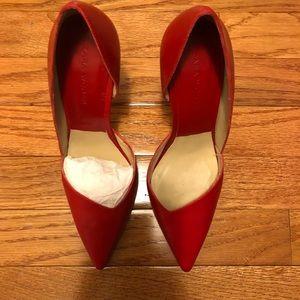 Red Zara Pumps